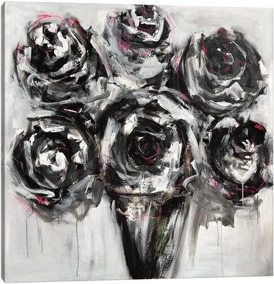 Black Roses Canvas Art Print