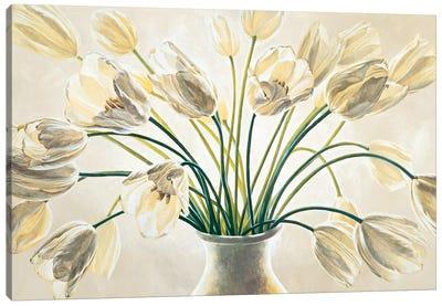 Bouquet di tulipani Canvas Art Print
