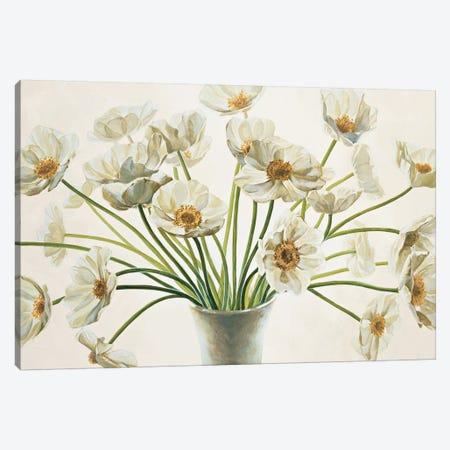 Bouquet di anemoni Canvas Print #EBR2} by Eva Barberini Canvas Artwork