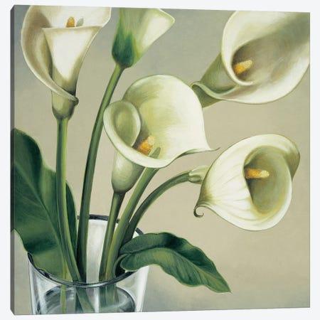 Calle in vaso Canvas Print #EBR7} by Eva Barberini Art Print