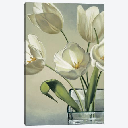 Tulipani in vaso Canvas Print #EBR8} by Eva Barberini Canvas Art