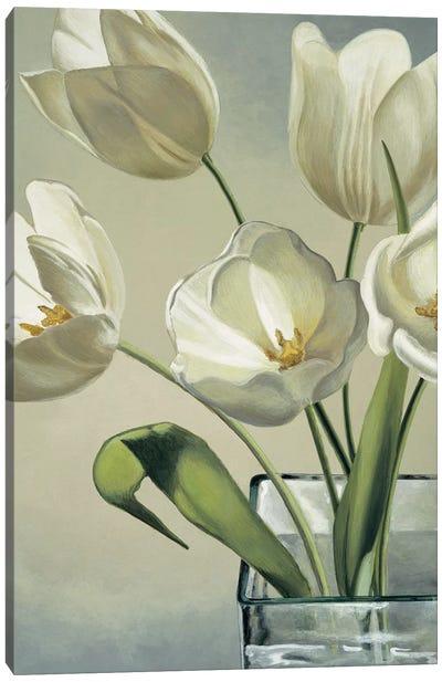 Tulipani in vaso Canvas Art Print