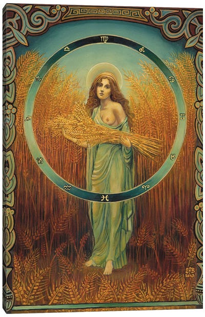 Ceres: The Goddess Of Agriculture Canvas Art Print