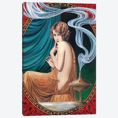 The Charms Of Ishtar Canvas Print #EBV12} by Emily Balivet Canvas Art Print