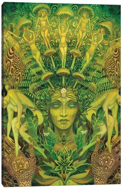 The Dryad Canvas Art Print