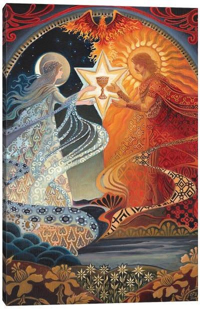 The Alchemical Wedding Canvas Art Print