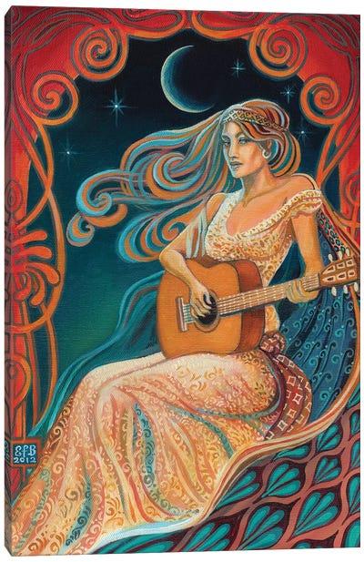 Gypsy Moon Canvas Art Print