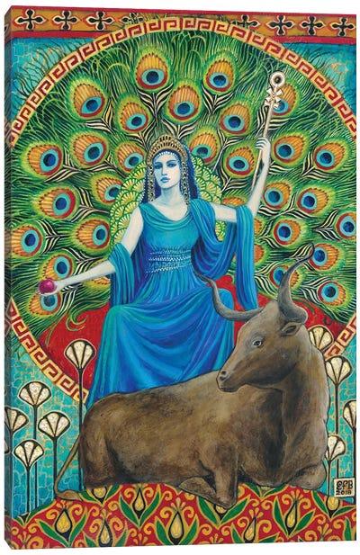 Hera: The Goddess Of Marriage Canvas Art Print