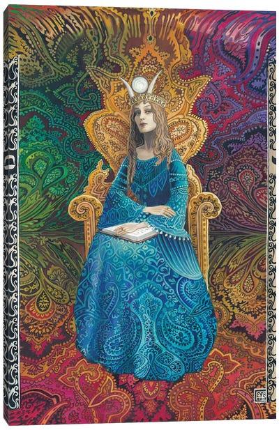 The High Priestess Canvas Art Print