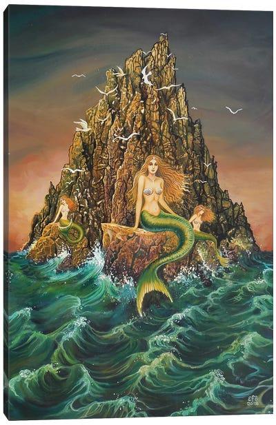 The Mermaids Canvas Art Print