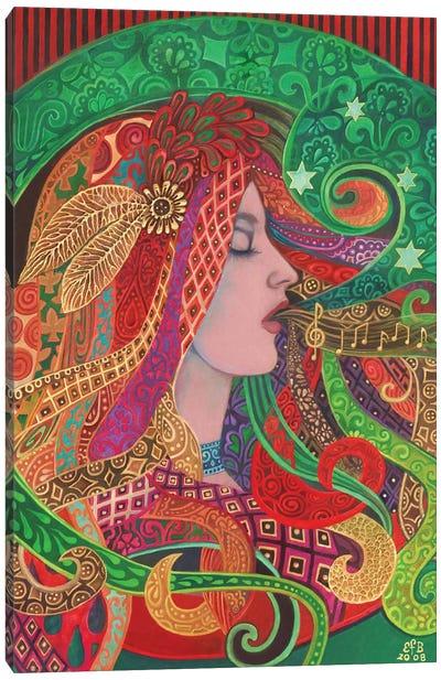 Mezzo Goddess Canvas Art Print