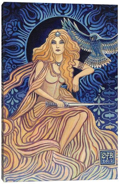 Minerva: Goddess Of Wisdom And Strategy Canvas Art Print