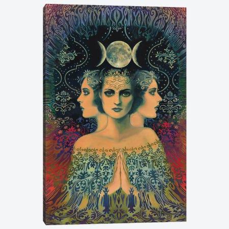 The Moon: Goddess Of Mystery Canvas Print #EBV32} by Emily Balivet Canvas Art Print