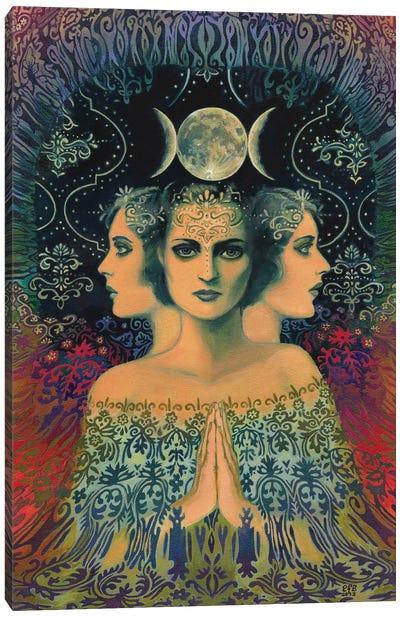 The Moon: Goddess Of Mystery Canvas Art Print