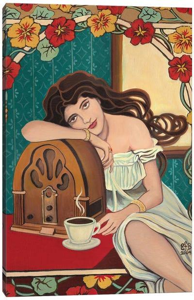 Morning Ritual Canvas Art Print