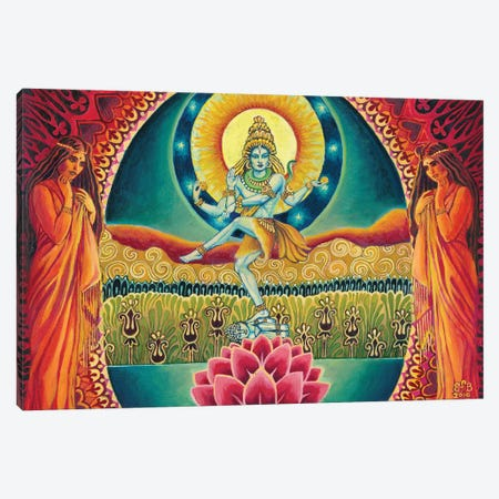 Nataraja: The Cosmic Dancer Canvas Print #EBV34} by Emily Balivet Canvas Art