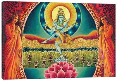 Nataraja: The Cosmic Dancer Canvas Art Print