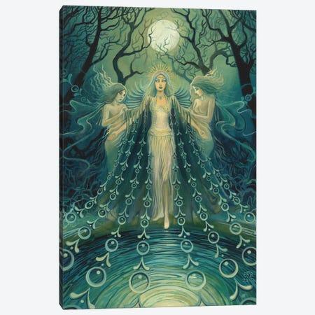 Nyx: Goddess Of The Night Canvas Print #EBV37} by Emily Balivet Canvas Art