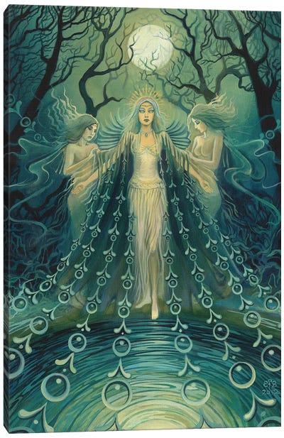Nyx: Goddess Of The Night Canvas Art Print