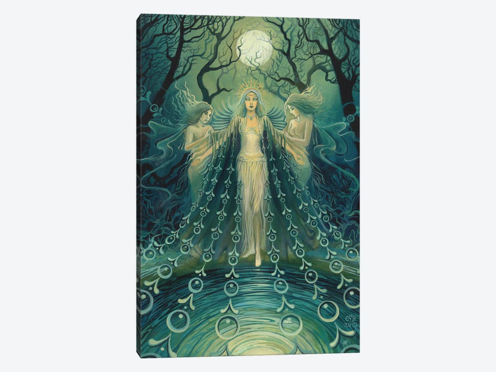 Nyx: Goddess Of The Night by Emily Balivet 1-piece Canvas Art Print