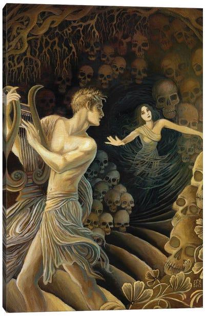 Orpheus And Eurydice Canvas Art Print