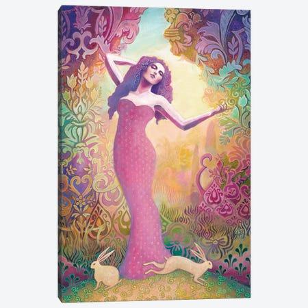 Ostara: The Germanic Goddess Of Spring Canvas Print #EBV39} by Emily Balivet Canvas Print