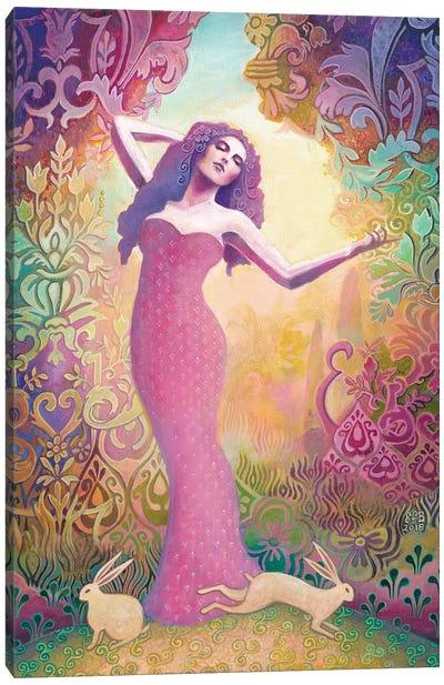Ostara: The Germanic Goddess Of Spring Canvas Art Print