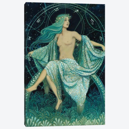 Asteria: Goddess Of The Stars Canvas Print #EBV3} by Emily Balivet Canvas Wall Art