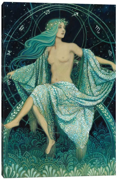 Asteria: Goddess Of The Stars Canvas Art Print