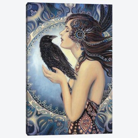 The Raven Goddess Canvas Print #EBV43} by Emily Balivet Canvas Art