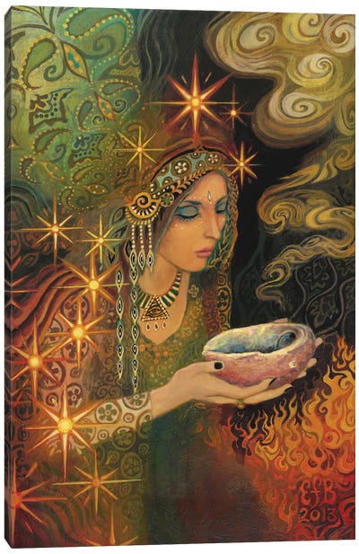 The Sage Goddess Canvas Art Print