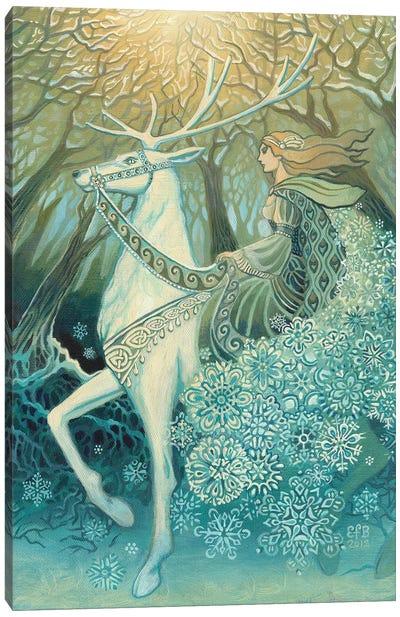 The Snow Queen Canvas Art Print