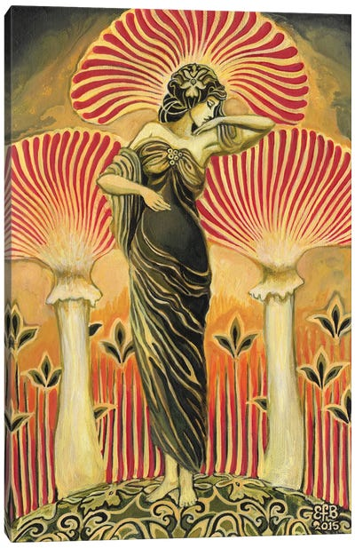 The Soma Goddess Canvas Art Print