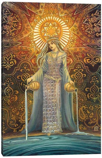 The Star: Goddess Of Hope Canvas Art Print