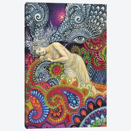 Theia: The Goddess Of Sight And Heavenly Light Canvas Print #EBV51} by Emily Balivet Canvas Art Print