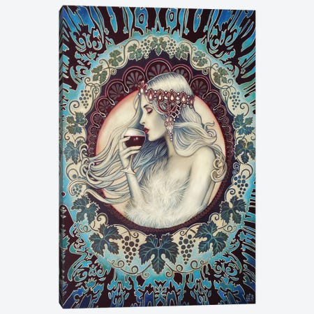 Khione - The Greek Goddess Of Winter Canvas Print #EBV59} by Emily Balivet Canvas Art Print