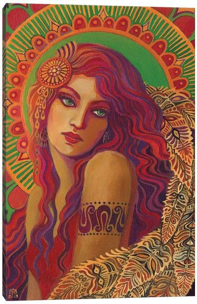Bohemian Belle Canvas Art Print