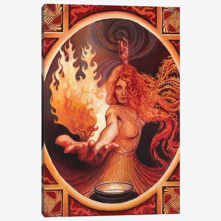 Brigid: The Goddess Of Inspiration Canvas Print #EBV9} by Emily Balivet Canvas Artwork