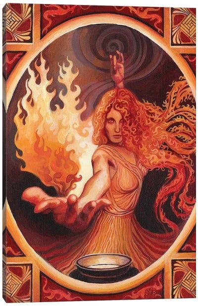 Brigid: The Goddess Of Inspiration Canvas Art Print
