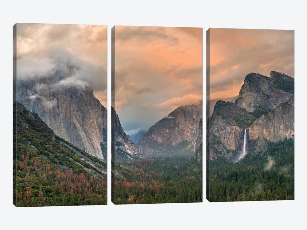 Heaven And Earth 3-piece Canvas Print