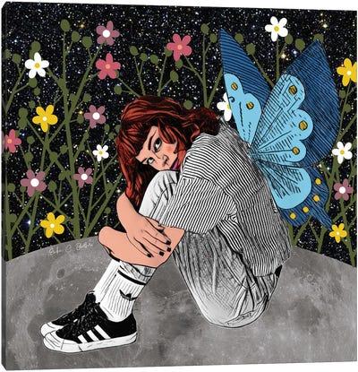 Butterfly Transformation Canvas Art Print