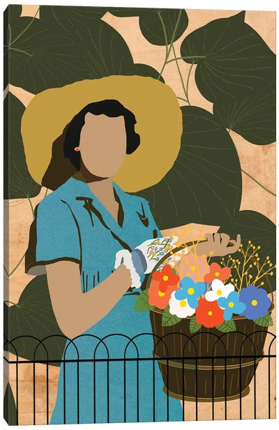 The Gardener Canvas Art Print