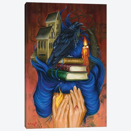 """Secret Place Canvas Print #ECD15} by Encarni Díaz """"Ginger"""" Canvas Art Print"""
