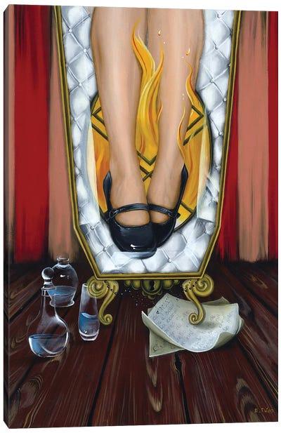 The Glass Coffin Canvas Art Print