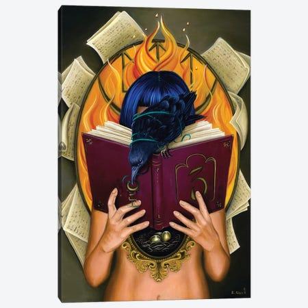 "Her Own Story Canvas Print #ECD9} by Encarni Díaz ""Ginger"" Canvas Artwork"