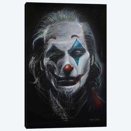 Joker II Canvas Print #ECE102} by Erick Centeno Canvas Print