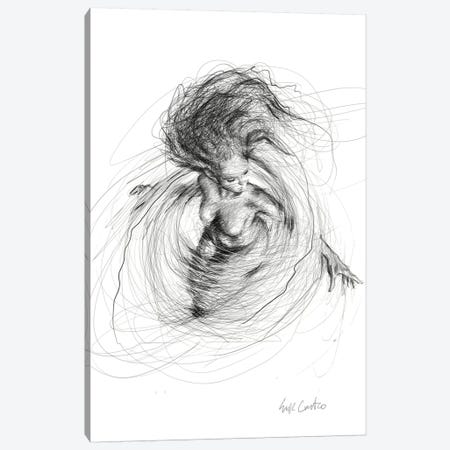 Swirling Thoughts Canvas Print #ECE103} by Erick Centeno Canvas Print