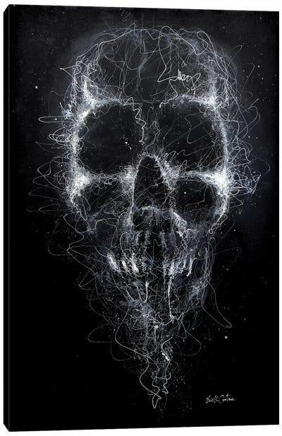 Darkness Canvas Art Print