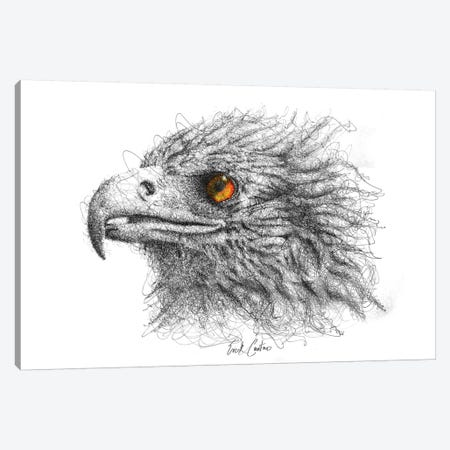 Eagle Eye Canvas Print #ECE15} by Erick Centeno Canvas Art