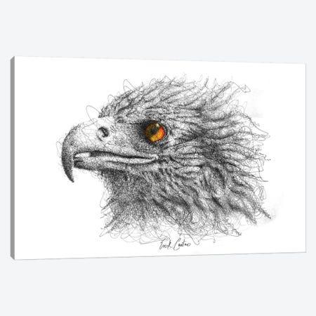 Eagle Eye Canvas Print #ECE15} by Erick Centeno Canvas Art
